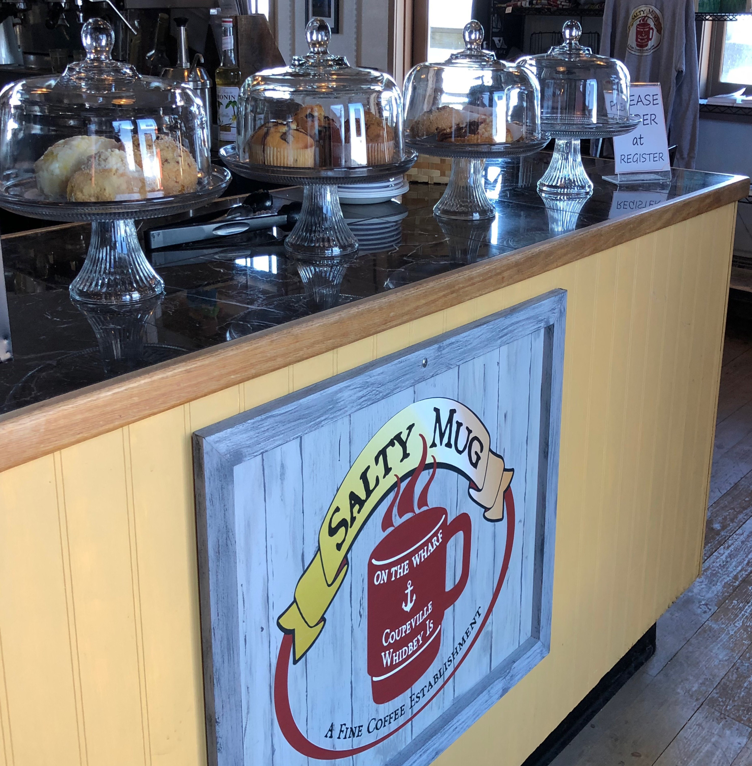 The Salty Mug Coupeville Washington, Coffee Shop