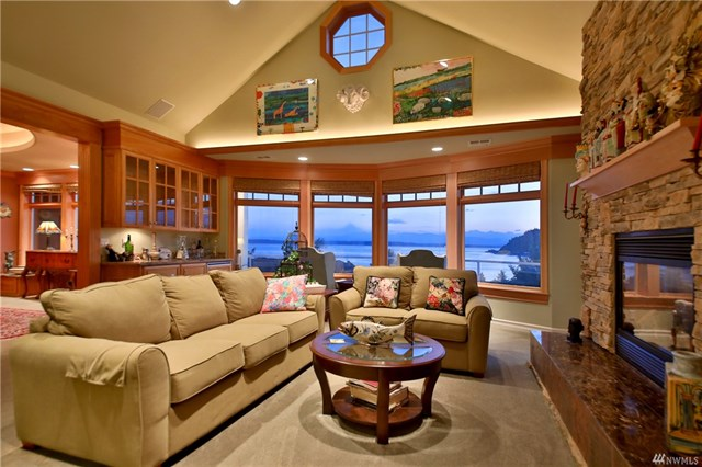 Million Dollar Home Clinton, Whidbey Island, Clinton, Million Dollar Homes